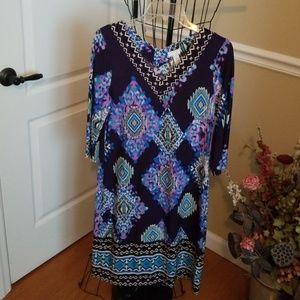 Beautiful current trend dress